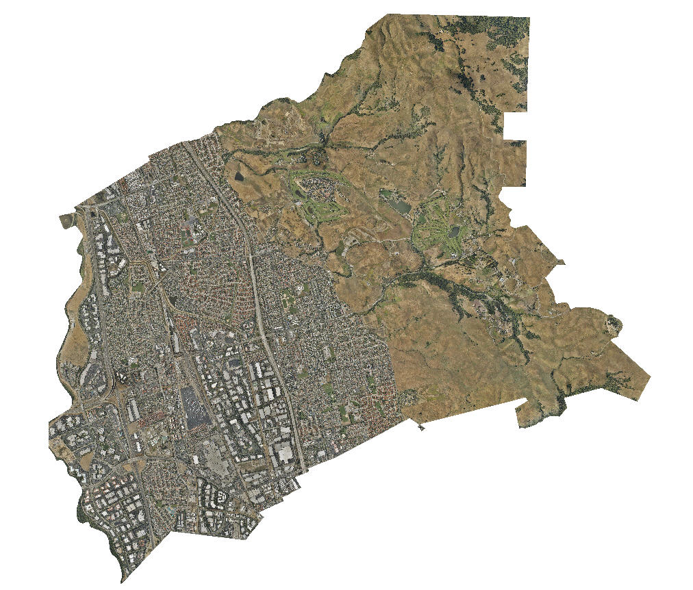 "City of Milpitas - Map set at 8"" resolution"